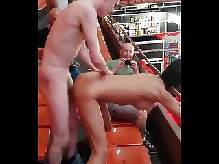 Boy fucking a girl public VERY HOT SEX!!!!