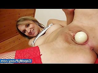 Petite blond slut Scarlet filthy pussy fingering