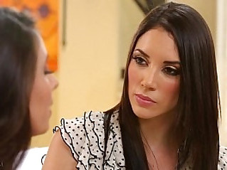Busty step mom Jelena Jensen and Casey Calvert