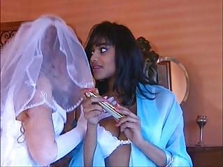 Wedding Night Threesome