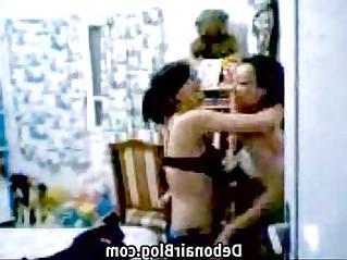 Indian lesbo enjoying