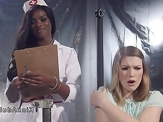 Ebony anal brunette patient