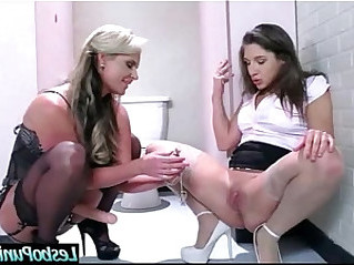 Punish Lesbians Treatment In Hot Sex Lesson vid