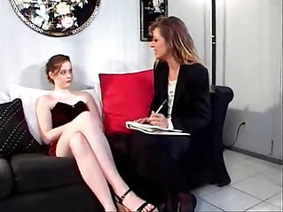 horny lesbian sucks and fucks young woman