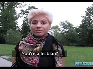 PublicAgent HD She fucks good to be a real lesbian