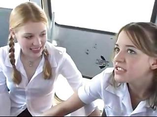 School bus fuck