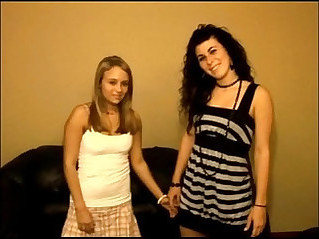 Holly and Reanna share lesbian experience